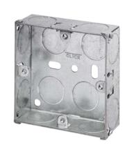 25mm Single Metal Backbox