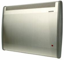 Consort PLST LST Wall Mounted Fan Heater - S/Steel