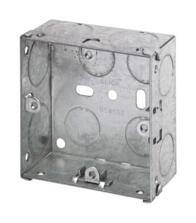 35mm Single Metal Backbox
