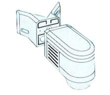 Steinel IS 240 PIR Motion Detector Corner Bracket
