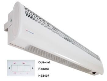 Consort Over Door Heater Shop Air Curtain Double - 4.5kW - Double Door Commercial Heater