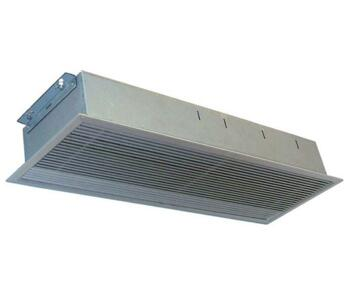 Consort Recessed Air Curtain Heater - Small  - 3kW Over Door Shop Heater