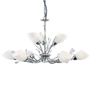 Gardenia Ceiling Light - Chrome 9 Light 2769-9CC - Chrome Finish