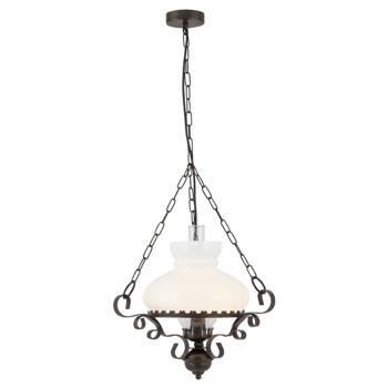 Oil Lantern Pendant Ceiling Light - 576RU - Antique Rust Finish