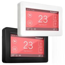WIFI Dual Control Touchscreen Thermostat  - Ice White