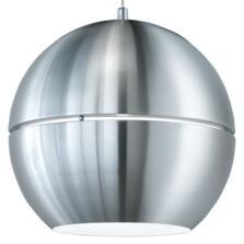 400mm Brushed Aluminium Pendant Light - Fitting