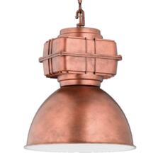 410mm Antique Copper Industrial Pendant Light - Fitting