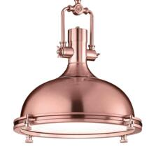 400mm Copper Industrial Pendant Light