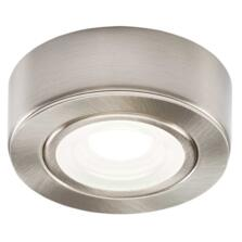 240v 2w LED Brushed Chrome Kitchen Undercabinet Light
