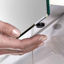 Glimmer Diffused LED Illuminated Bathroom Mirror - 1200mm x 600mm 24.65w