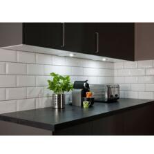 LED Square Undershelf Cabinet Light 3W - Warm white 3000k