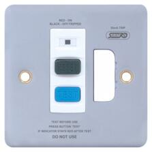 Metal Clad RCD Fused Connection Unit