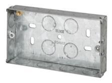 25mm Double Metal Backbox