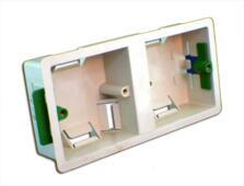 35mm Dual Accessory Plasterboard Backbox