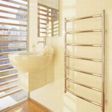 Consort 7 Rung Ladder Towel Rail - Chrome