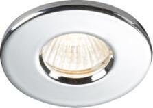 IP65 GU10/12V Bathroom Shower Downlight - Polished Chrome