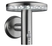 Brooklyn LED PIR Outdoor Wall Light  Stainless Steel Finish