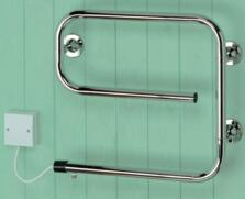Sunhouse Heated Towel Rail - Chrome