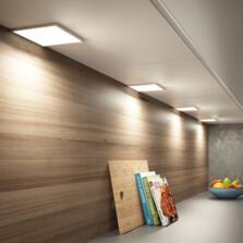 Alti Square LED Under Cabinet Light - Cool white single light