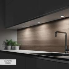 Hype Triotone Surface/Recessed LED Under Cabinet Light - Single Head Colour Adjustable