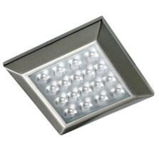 Ora Square LED Cabinet Light - Cool White Single Light
