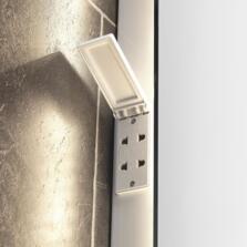 Reagan LED Backlit Mirror - Colour Switchable 800mm x 600mm - SE30672C0