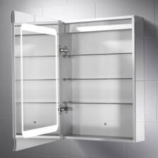 Belle Illuminated LED Mirror Cabinet 700mm x 500mm - SE30796C0