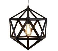 Matt Black Metal Pendant Light