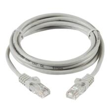 Grey Cat5e RJ45 Patch Leads