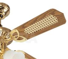 "Westinghouse Princess Trio Ceiling Fan Light-Brass - 42"" Polished Brass"