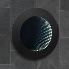 Portman 3D Infinity LED Bathroom Mirror 500mm
