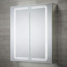 Harlow LED Illuminated Mirror Cabinet 700 x 600mm