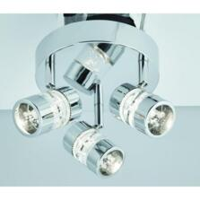 Chrome 3 Light Spotlight Plate