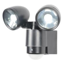 Sirocco LED Twinspot Floodlight With PIR Sensor
