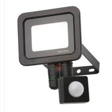 LED Security Floodlights With PIR Sensor - 10w