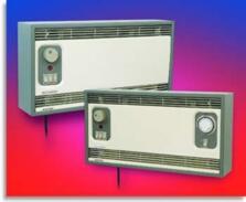 Consort Flowzone Wall Mounted Fan Heater - Beige