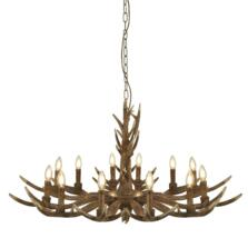 Stag 12 Light Antler Pendant Ceiling Light