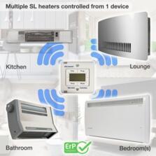 Consort LST SL Wall Mounted Wireless Panel Heater - 0.5kw SL