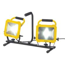 LED Twin Floodlight Work Site Light