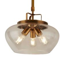 Bronze 3 Light Ceiling Pendant