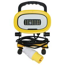 110v Portable LED Site Work Flood Light 8w