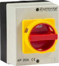 IP65 Rotary Isolator Switch Indoor or Outdoor Use