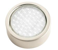 Mini-Circ Surface Mounted Downlight - Undershelf -  Stainless Steel