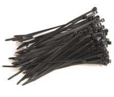 Cable Ties - Black Nylon - Pack of 100