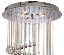 Spiral Ceiling Light - 5 Light Halogen 7743CC