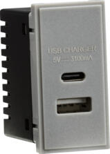 USB Charger Module Euro date Type A&C (3.1A)