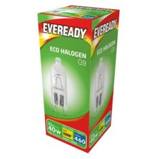 33W G9 Light Bulb Halogen 240v - Pack of 1