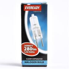 20W G4 Light Bulb Halogen 12v	 - Pack of 1