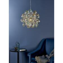Infinity Chrome & Glass Ceiling Light - Fitting only