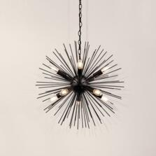Sputnik 10 Light Pendant - Matt Black -  6310-10BK